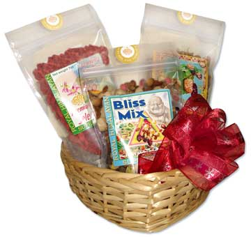 berry bliss gift basket