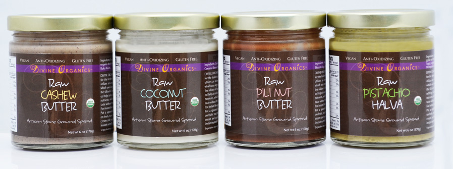 artisan stone ground nut and seed butters