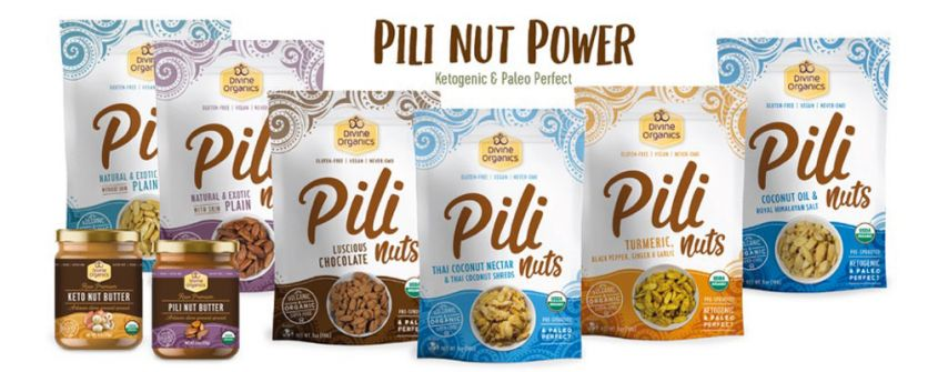 Order $50 or more and receive a Free Bag of Flavored Pili Nuts