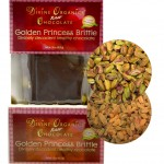 Divine Organics Golden Princess brittle with closeup