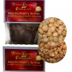 Divine Organics MacMulberry brittle with closeup
