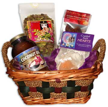 GOLDEN PRINCESS GIFT BASKET