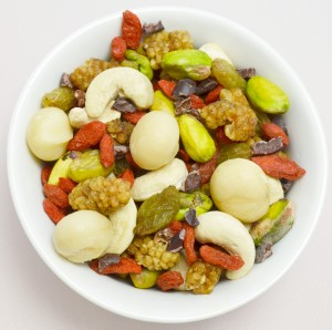 Signature Trailmix, superfood mix, organic, raw, from Divine Organics by Transition Nutrition