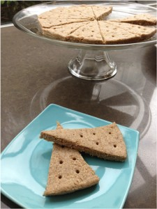 raw and low glycemic Mulberry Shortbread Cookies served on a plate