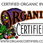 CERTIFIED ORGANIC BY LOGO